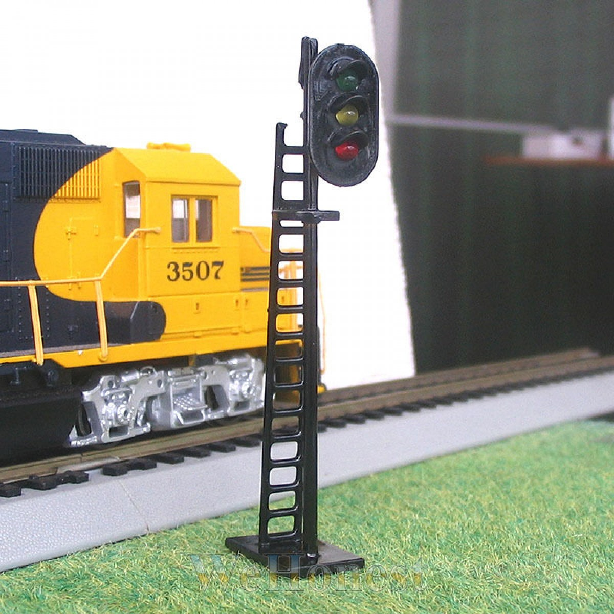 1 x OO or HO Scale LEDs Made Railway Signals 3 lights Block Signals G/Y/R #N